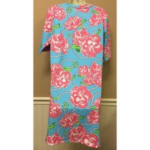 9324f8fc629 Simply Southern Dresses - Simply Southern Rose Floral Tunic Shirt Dress M/L